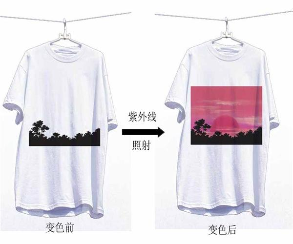 Color changing t-shirts