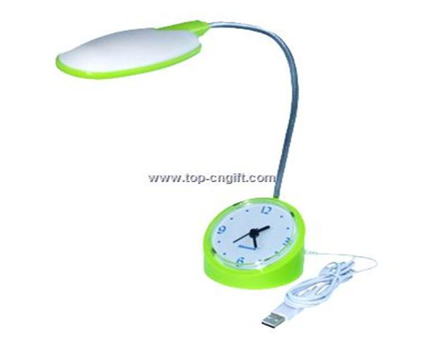 USB Lamp with Clock