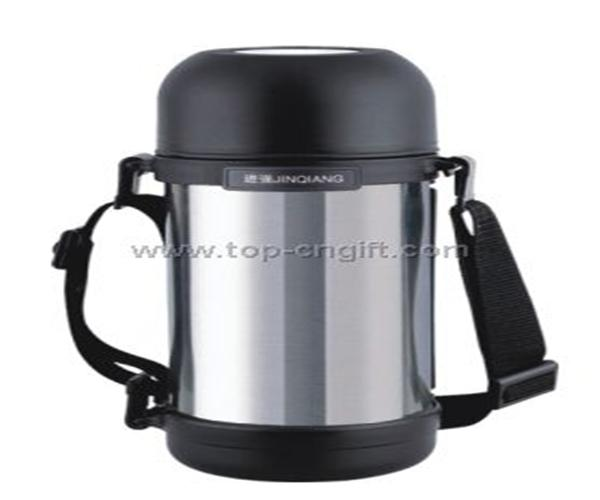 Stainless steel travel coffee pot