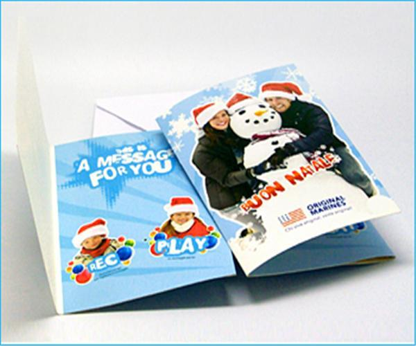 Recordable Christmas Cards