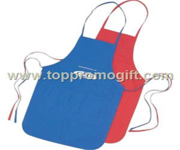 Polyester-cotton apron