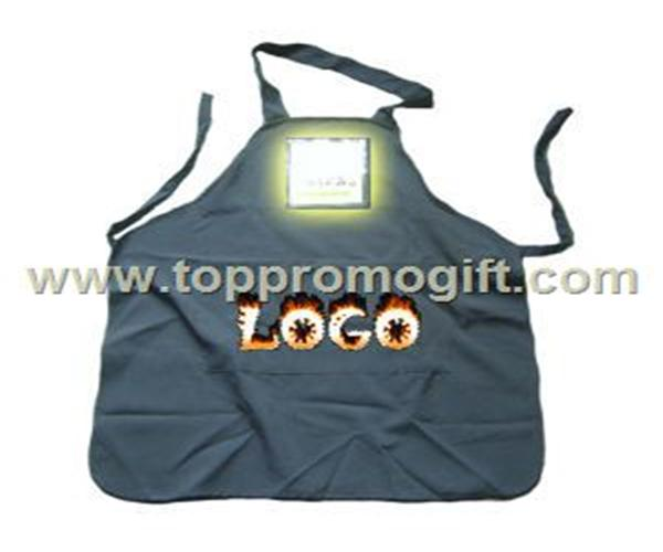 LED apron in full body or waist styles