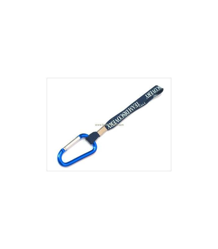 Carabiner with lanyard