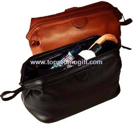 Traditional Toiletry Bag - Genuine Split