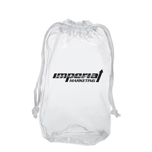 Clear Mini Drawstring Bag