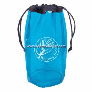 Translucent Amenities Cinch Bag
