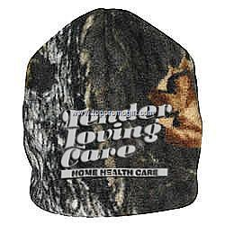 Camouflage Reversible Hunting Fleece Beanie With H