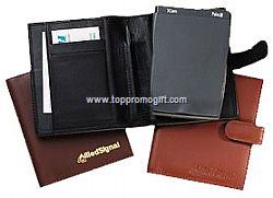 Palm PilotTM Leather Carrier Synthetic Leather