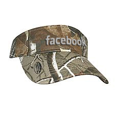 Realtree Camouflage Visor