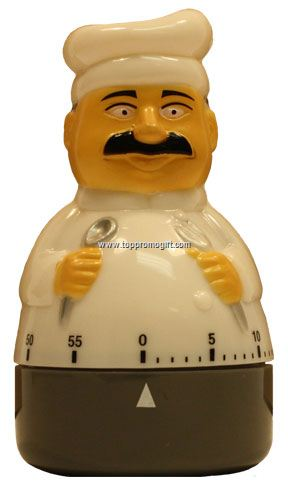 60 Min Chef-Shaped Timer