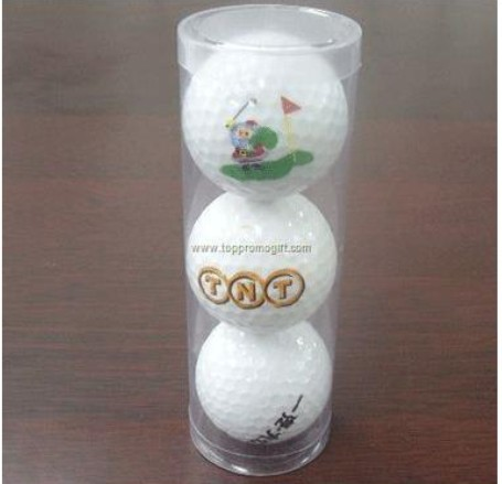 3 BALLS IN PVC TUBE SET