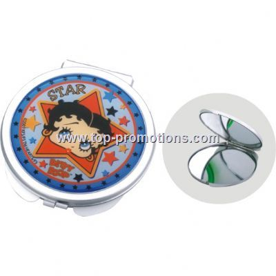 Aluminum pocket mirror