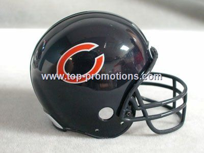 Chicago Bears Football Helmet Coin Bank