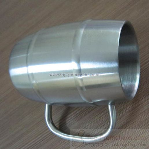 Endurance Double Wall Stainless Steel Beer Mug