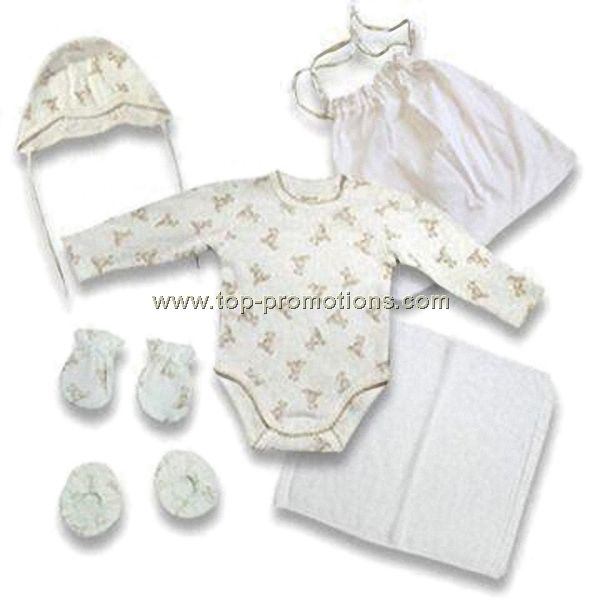 Organic Cotton Baby Gift Set Woth