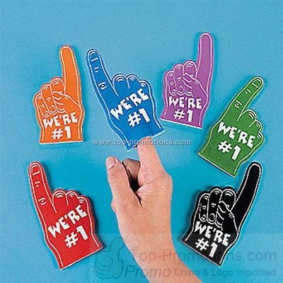 Mini Foam Fingers - Assorted