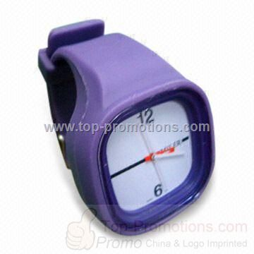 Anion Silicone Bracelet Watch in Various Colors
