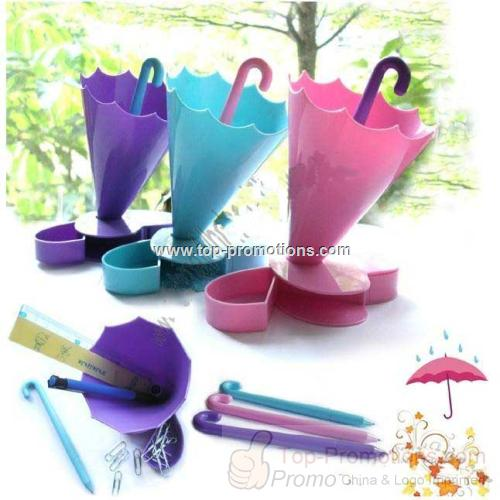 Multifunction Umbrella Pen Holder