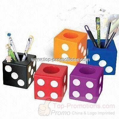 Promotional Poker Dice Pen Holder