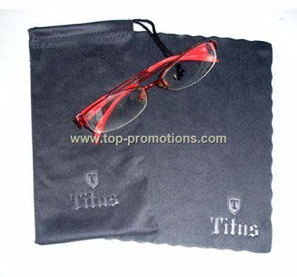 Glasses bags with cloth