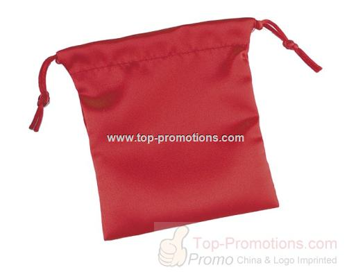 Satin Pouches Red