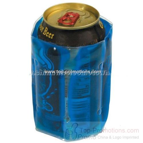 Gel Filled Can Cooler Wrap