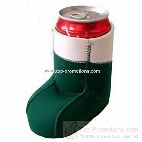 Shoe Shaped Neoprene Can Cooler