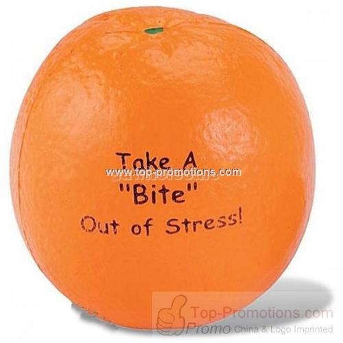 Orange Stress Reliever Balls - Economy