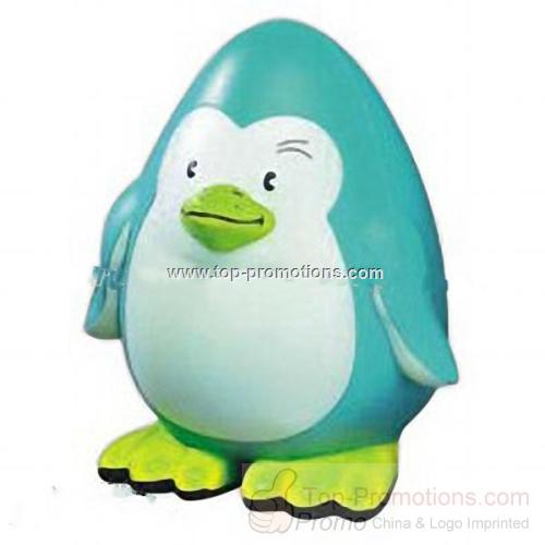 Round Penguin Stress Ball Toy
