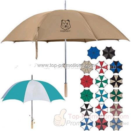 "Promotional Automatic 48"" arc Golf Umbrella"