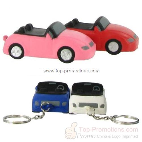 Convertible Car Key Chain Stress Reliever-Personal