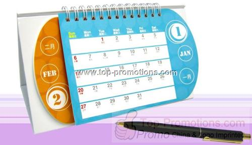 Easy-touch Monthly Desk Calendar