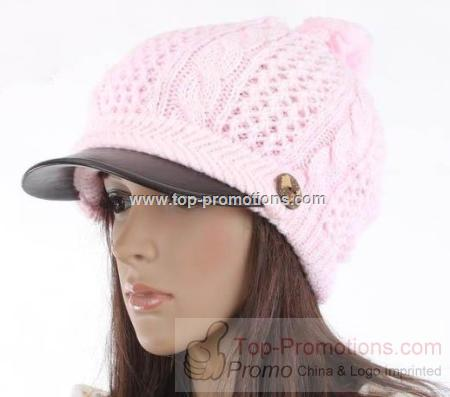 NEWSBOY HAT WOMEN is S CAP BEANIE BERET WARM HAND CRO