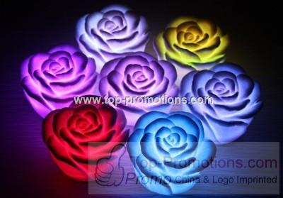 Electronic LED Rose 7 Color Change Roses Flower No