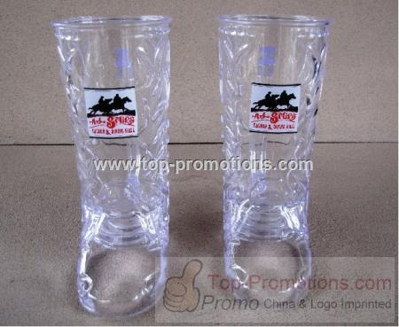 Clear boot shape