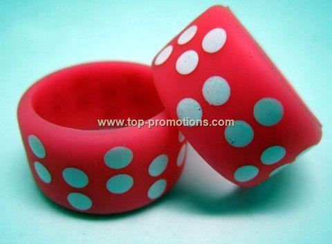 Printed Silicone Finger Rings