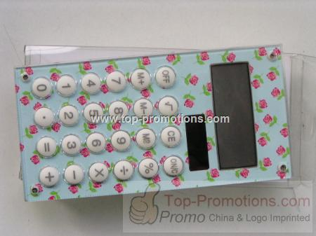 Promotional Caculator with Fashion Design