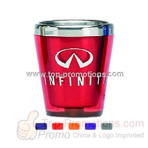 Stainless lined acrylic shot glass