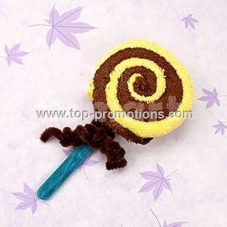 Lollipop Shape Towel