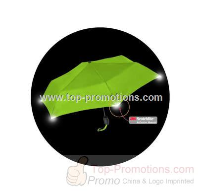 WalkSafe - Manual Open 40 Compact Umbrella With 3M