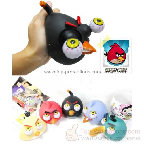 Angry Birds Poppin Peepers Squeeze Toy