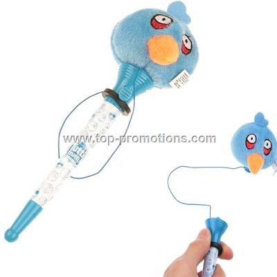 Lovely Angry Birds Kids Frighten and Jump Ball Pen
