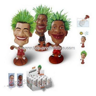 Nba Star Doll With Grass Hair
