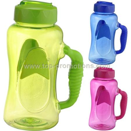 Super Large Plastic Water Bottle with Handle