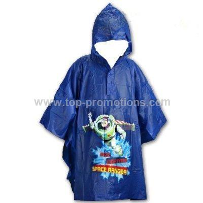 Buzz Lightyear Toys Story Boy is s Blue Poncho