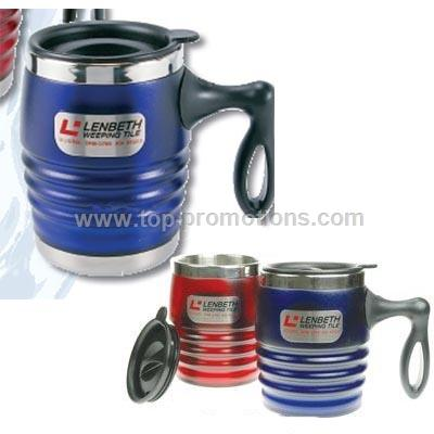 18oz Stainless Steel Thermal Super Barrel Mug with