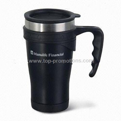 16oz Double-wallde Stainless Steel Travel Mug