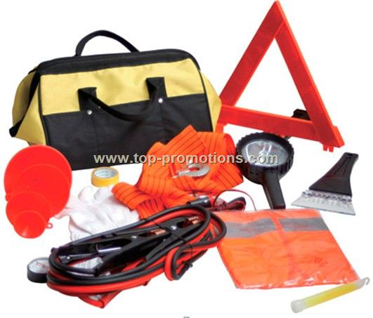 12pcs Emergency Roadside kit
