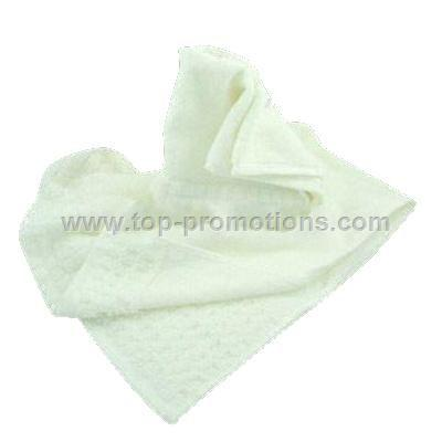 Cotton Jacquard Check Band Terry Towel
