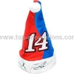 Team Beans Tony Stewart Santa Hat